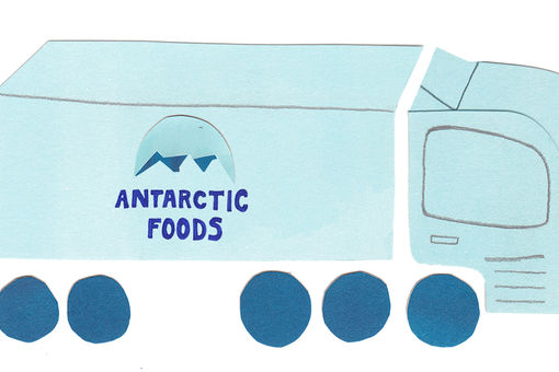 Redlobster illustratie Antarctic Foods
